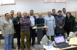 Trainers from Lebanon in Mercedes Workshops Amman