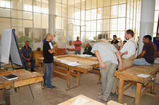 GIZ Woodworking Course 2012
